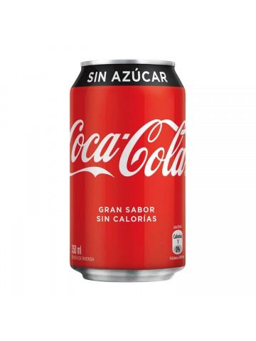 Coca-Cola Sin Azúcar 350 CC